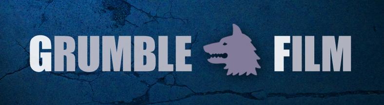 Logo van filmmaker en regisseur Grumble Film Jop Erik de Jong