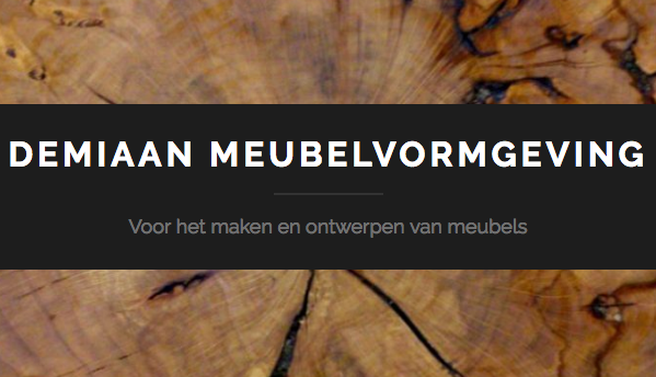 Logo van meubelmaker en ontwerper Demiaan Meubelvormgeving